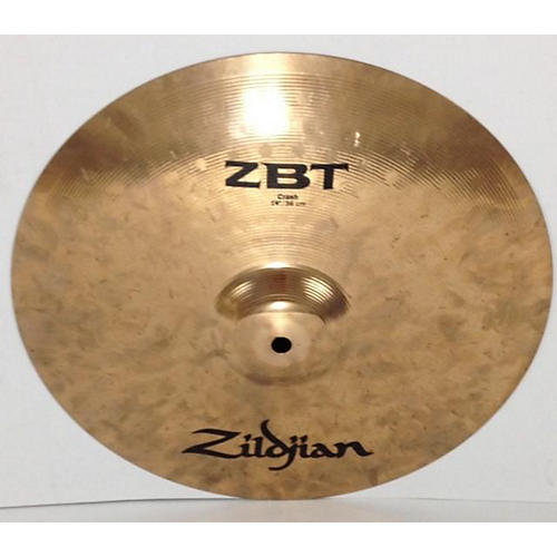 Zildjian 2013 14in ZBT Crash Cymbal