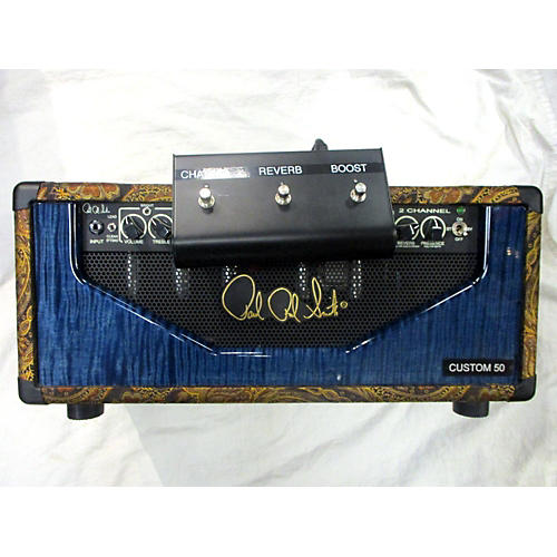 PRS 2013 CUSTOM 50 2 CHANNEL PAISLEY Tube Guitar Amp Head