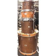 SJC Drums 2013 Custom 4-piece Maple Mahogany Drum Kit