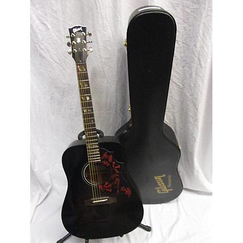 Gibson 2013 Eric Church Hummingbird Dark Acoustic Guitar