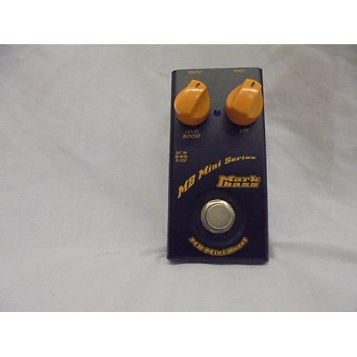 Markbass 2013 MB Mini Boost Bass Effect Pedal