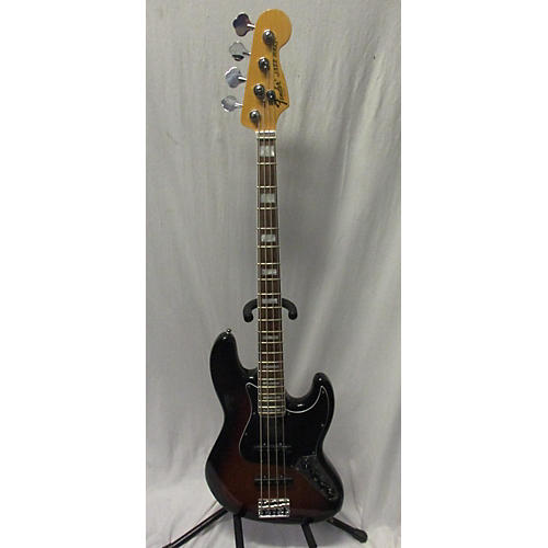 used fender 2014 american deluxe jazz bass electric bass guitar 3 color sunburst guitar center. Black Bedroom Furniture Sets. Home Design Ideas
