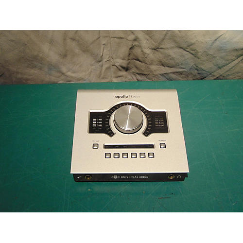 Universal Audio 2014 Apollo Twin Duo Black And Silver Audio Interface