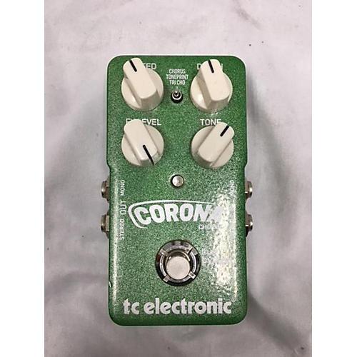 TC Electronic 2014 Corona Chorus Effect Pedal