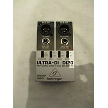 Behringer 2014 DI20 Ultra Direct Box