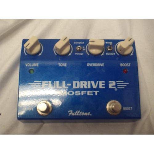Fulltone 2014 FD2MOS Fulldrive 2 Mosfet Overdrive Effect Pedal