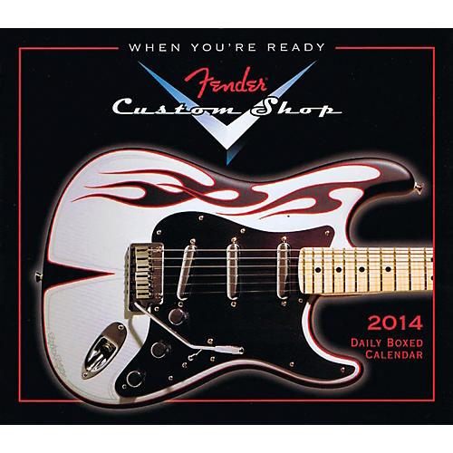 Hal Leonard 2014 Fender Custom Shop Daily Boxed Calendar