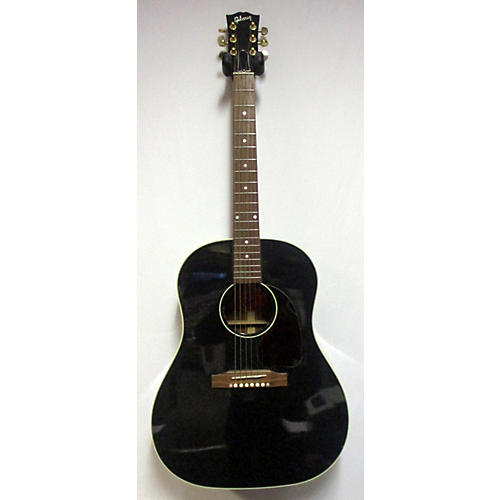 Gibson 2014 J45 Ebony Acoustic Electric Guitar
