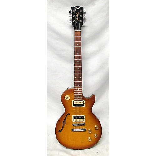 used gibson 2014 les paul special semi hollow hollow body electric guitar honey burst guitar. Black Bedroom Furniture Sets. Home Design Ideas