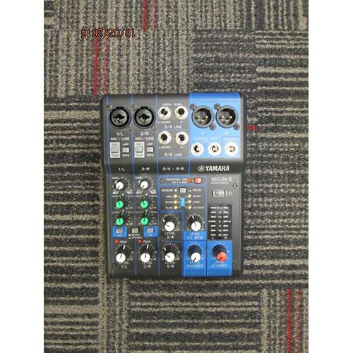 Yamaha 2014 Mg06x Line Mixer