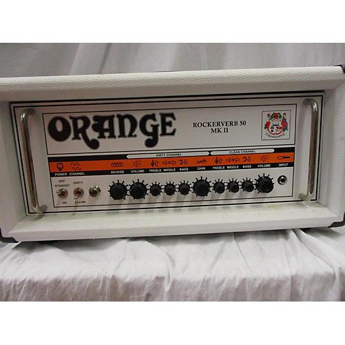Orange Amplifiers 2014 Rockerverb RK50HBK MKII 50W Tube Guitar Amp Head