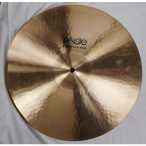 Paiste 2015 16in Formula 602 Classic Sounds Paperthin Crash Cymbal