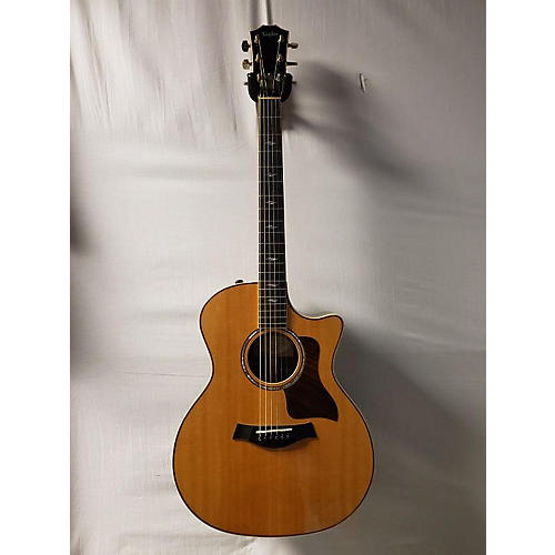 used taylor 2015 814ce acoustic electric guitar natural guitar center. Black Bedroom Furniture Sets. Home Design Ideas