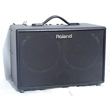 Roland 2015 AC90 90W 2X8 Stereo Acoustic Guitar Combo Amp