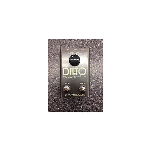 TC Helicon 2015 Ditto Mic Looper