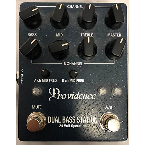 Providence 2015 Dual Bass Station Bass Effect Pedal