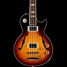 Gibson 2015 ES-Les Paul Semi-Hollow Electric Bass Guitar Faded Darkburst