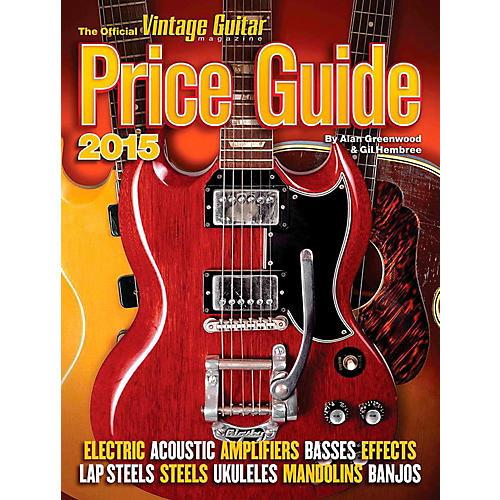 Hal Leonard 2015 Official Vintage Guitar Magazine Price Guide