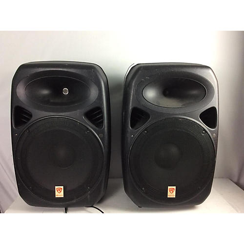 used rockville 2015 rpg 152k powered speaker guitar center. Black Bedroom Furniture Sets. Home Design Ideas