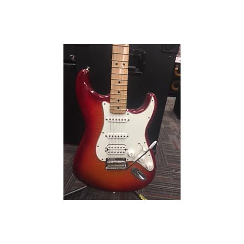 Fender 2015 Standard Stratocaster HSS Plus Top Solid Body Electric Guitar