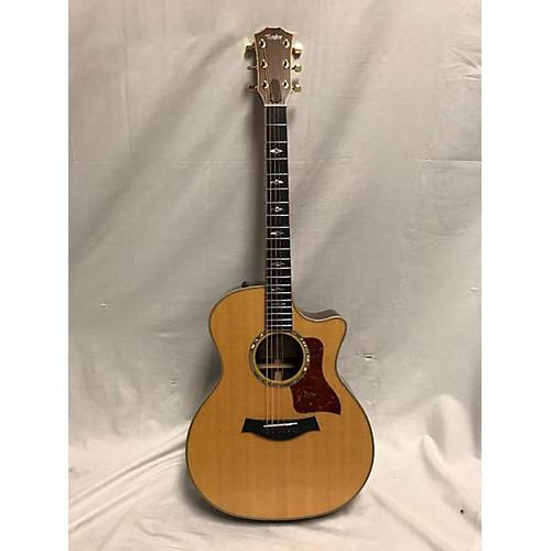 used taylor 2016 814ce acoustic electric guitar antique natural guitar center. Black Bedroom Furniture Sets. Home Design Ideas