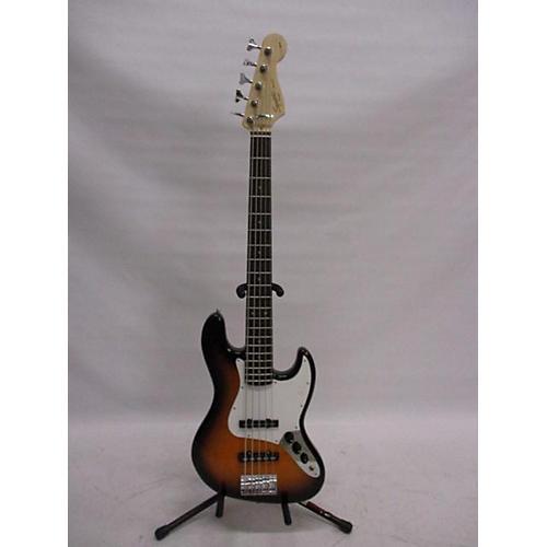 used squier 2016 affinity jazz bass v 5 string electric bass guitar 2 tone sunburst guitar center. Black Bedroom Furniture Sets. Home Design Ideas