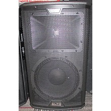 Alto 2016 Black 12in 2-Way Loudspeaker 2400W With Wireless Connectivity Powered Speaker