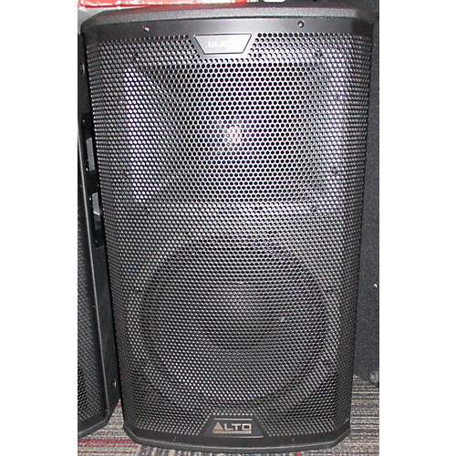 Alto 2016 Black 12in 2-Way Loudspeaker 2400W With Wireless Connectivity Powered Speaker