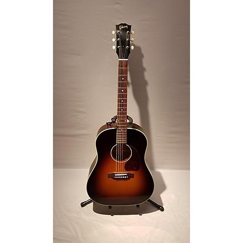 used gibson 2016 custom shop 1950 39 s j45 antiquity acoustic electric guitar guitar center. Black Bedroom Furniture Sets. Home Design Ideas