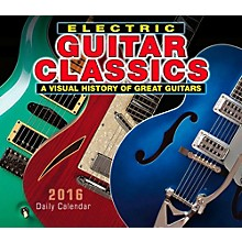 Hal Leonard 2016 Electric Guitar Classics Boxed Daily Calendar