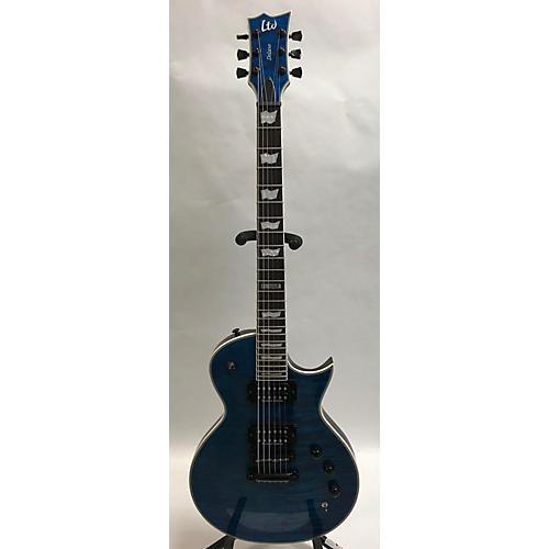 ESP 2016 LTD EC1000QM PIEZO Solid Body Electric Guitar
