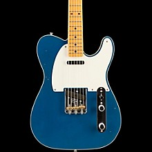 Fender Custom Shop 2016 Limited Edition NAMM Custom Built 50's Journeyman Relic Telecaster, Maple Aged Lake Placid Blue