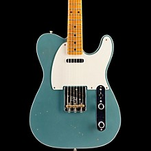 Fender Custom Shop 2016 Limited Edition NAMM Custom Built 50's Journeyman Relic Telecaster, Maple Firemist Silver Metallic