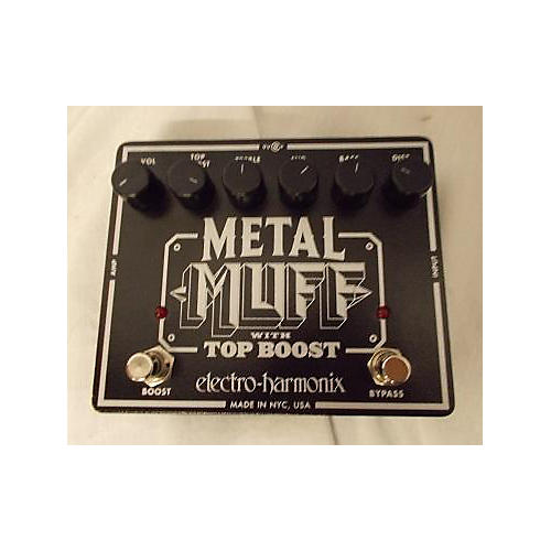 Electro-Harmonix 2016 Metal Muff Distortion With Top Boost Effect Pedal