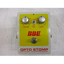 BBE 2016 Opto Stomp Effect Pedal