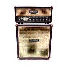Mesa Boogie 2016 RECTOVERB 25 LTD ED OXBLOOD WICKER CANE HEAD & 1X12 CAB Guitar Stack
