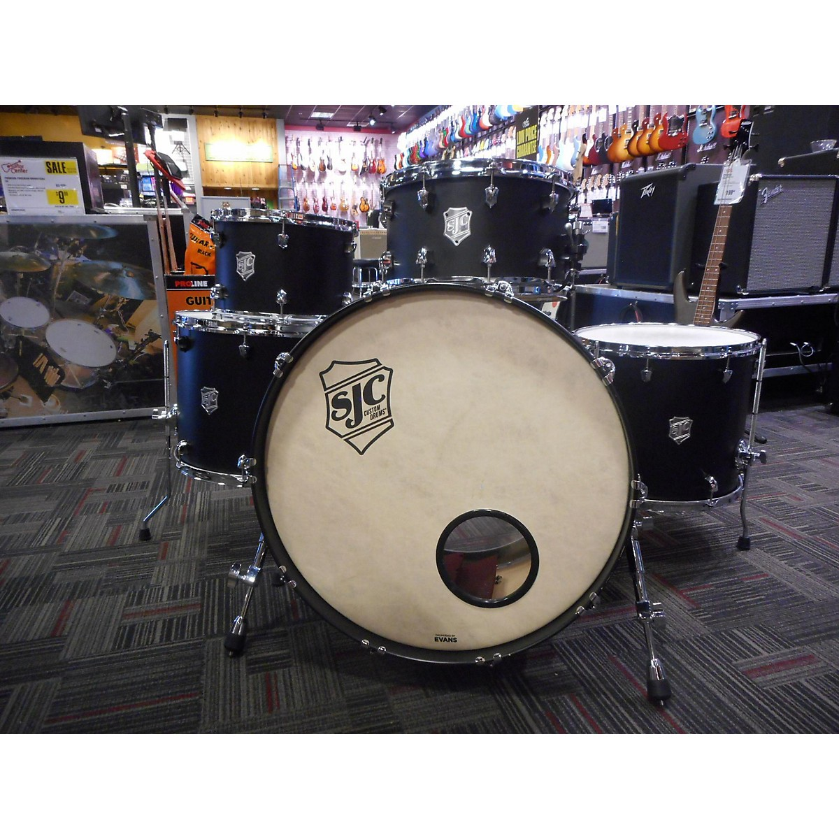 SJC Drums 2016 SJC Custom Drum Kit
