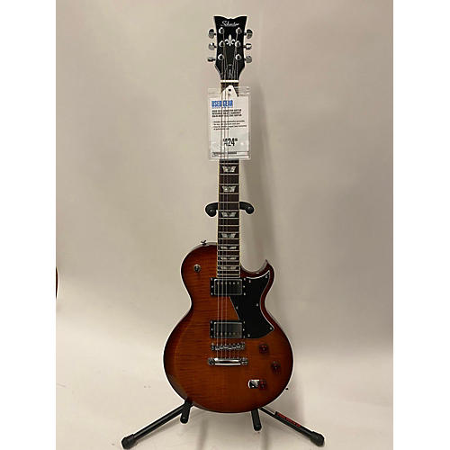 used schecter guitar research 2016 solo ii solid body electric guitar sunburst guitar center. Black Bedroom Furniture Sets. Home Design Ideas