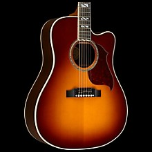 Gibson 2016 Songwriter Progressive Square Shoulder Cutaway Dreadnought Acoustic-Electric Guitar Autumn Burst