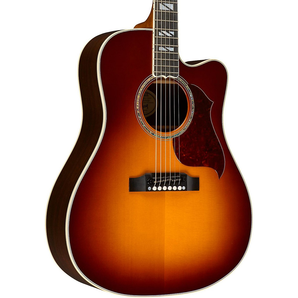 Gibson 2016 Songwriter Progressive Square Shoulder Cutaway Dreadnought Acoustic-Electric Guitar