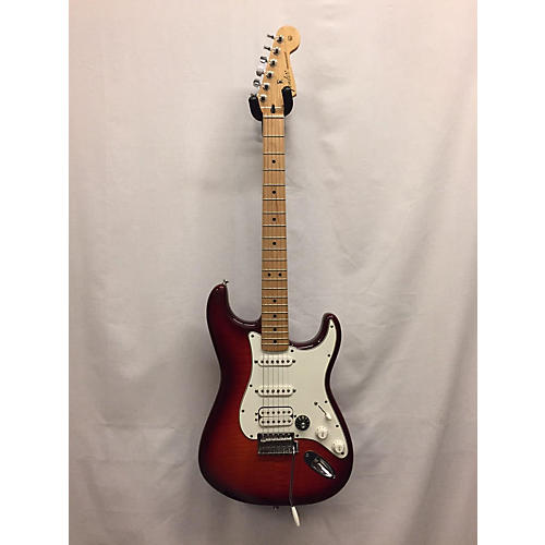 Fender 2016 Standard Stratocaster HSS Plus Top Solid Body Electric Guitar