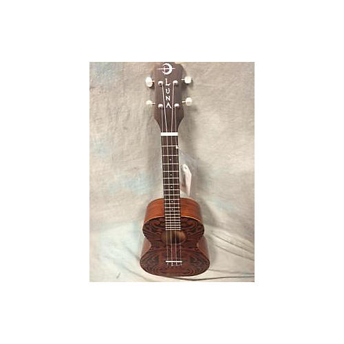 Luna Guitars 2016 UKE TRIBAL TENOR Ukulele