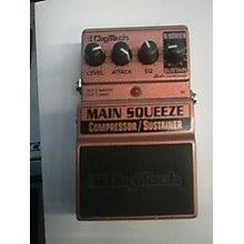 DigiTech 2016 XMS Main Squeeze Compressor/Sustainer Effect Pedal