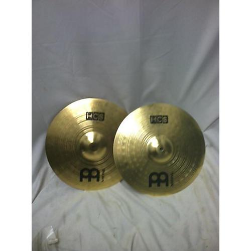 Meinl 2017 13in HCS Hi Hat Pair Cymbal