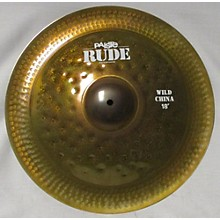 Paiste 2017 18in Rude Wild China Cymbal