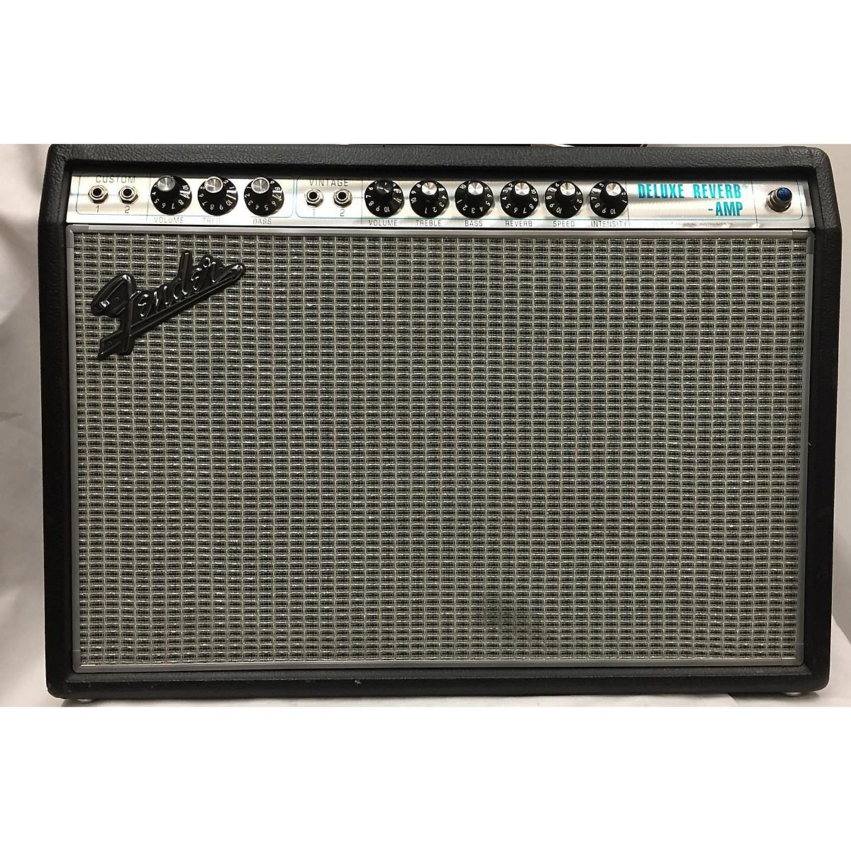 Fender 2017 1968 Custom Deluxe Reverb 22W 1x12 Tube Guitar Combo Amp