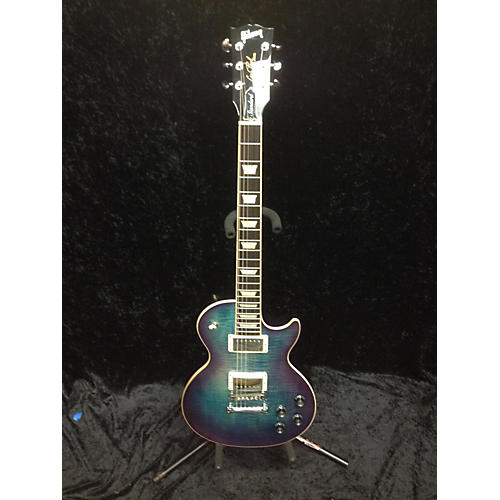 used gibson 2017 2017 les paul standard hp solid body electric guitar blueberry burst guitar. Black Bedroom Furniture Sets. Home Design Ideas