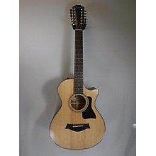 Taylor 2017 352CE 12 String Acoustic Electric Guitar