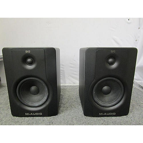 used m audio 2017 bx5 d2 pair powered monitor guitar center. Black Bedroom Furniture Sets. Home Design Ideas