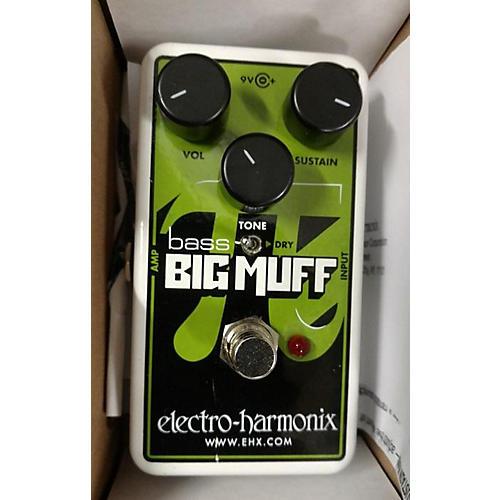 Electro-Harmonix 2017 Big Muff Nano Bass Distortion Bass Effect Pedal